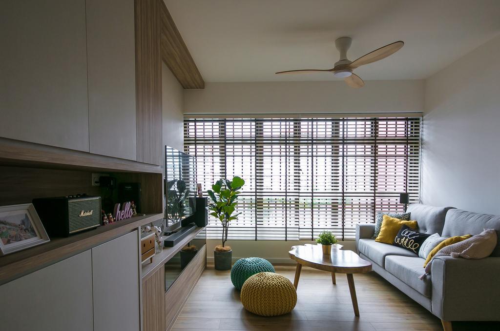 Contemporary, HDB, Living Room, Bedok Central, Interior Designer, Third Paragraph