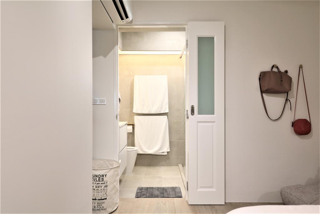 Modern, HDB, Bedroom, Circuit Road, Interior Designer, E+e Design & Build, Minimalistic