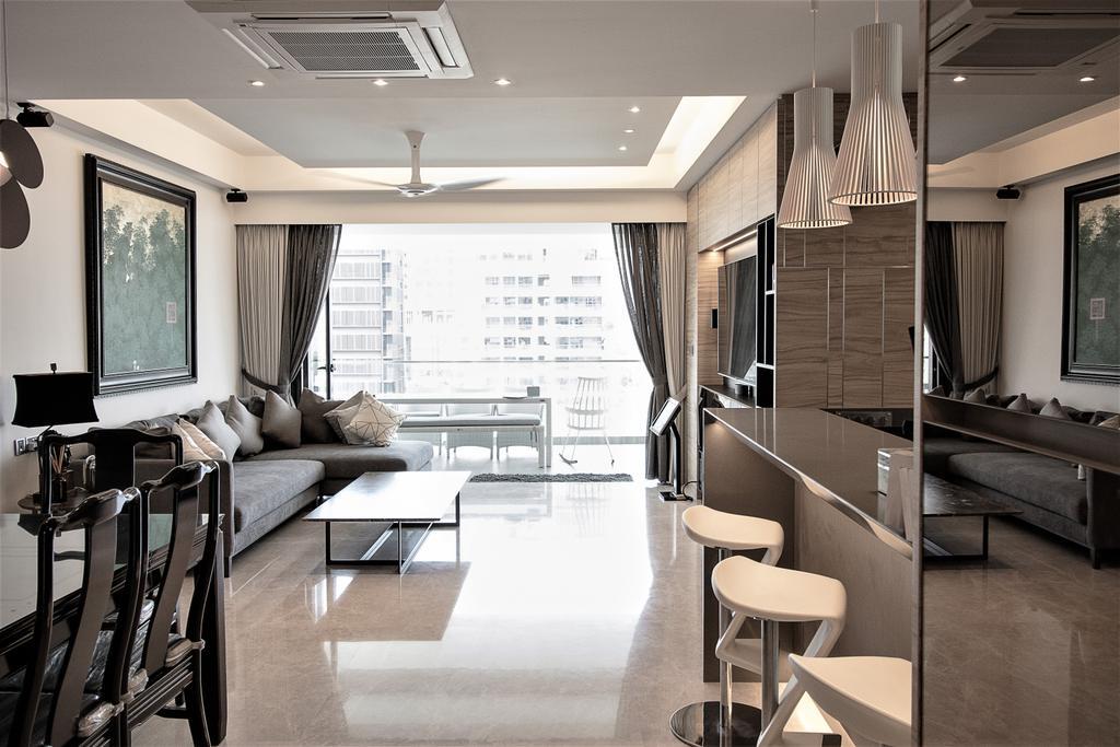 Contemporary, Condo, Dining Room, Vertis, Interior Designer, E+e Design & Build