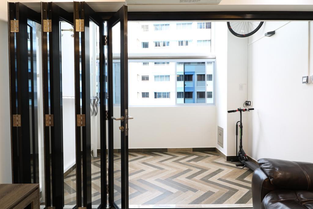 Contemporary, HDB, Balcony, Pasir Ris Drive 6, Interior Designer, E+e Design & Build