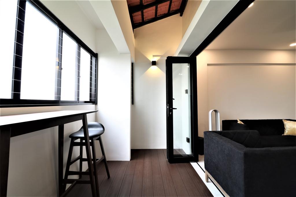 Contemporary, HDB, Balcony, Tampines Street 41, Interior Designer, E+e Design & Build