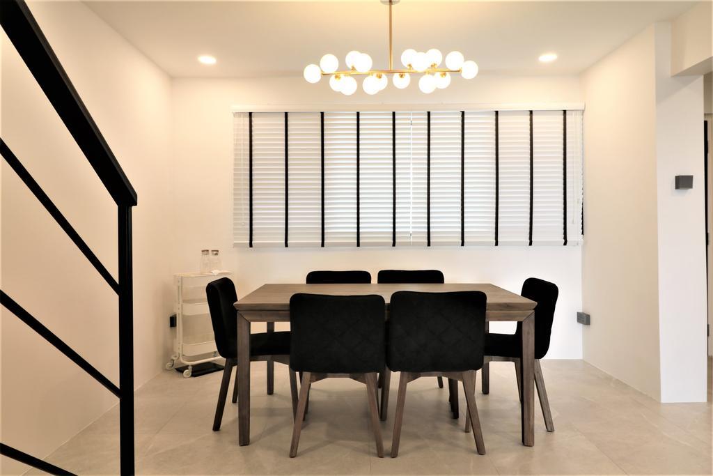 Contemporary, HDB, Dining Room, Tampines Street 41, Interior Designer, E+e Design & Build