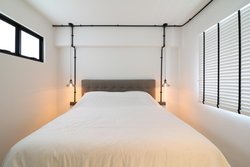 Industrial, HDB, Bedroom, Pasir Ris Drive 4, Interior Designer, E+e Design & Build, Contemporary