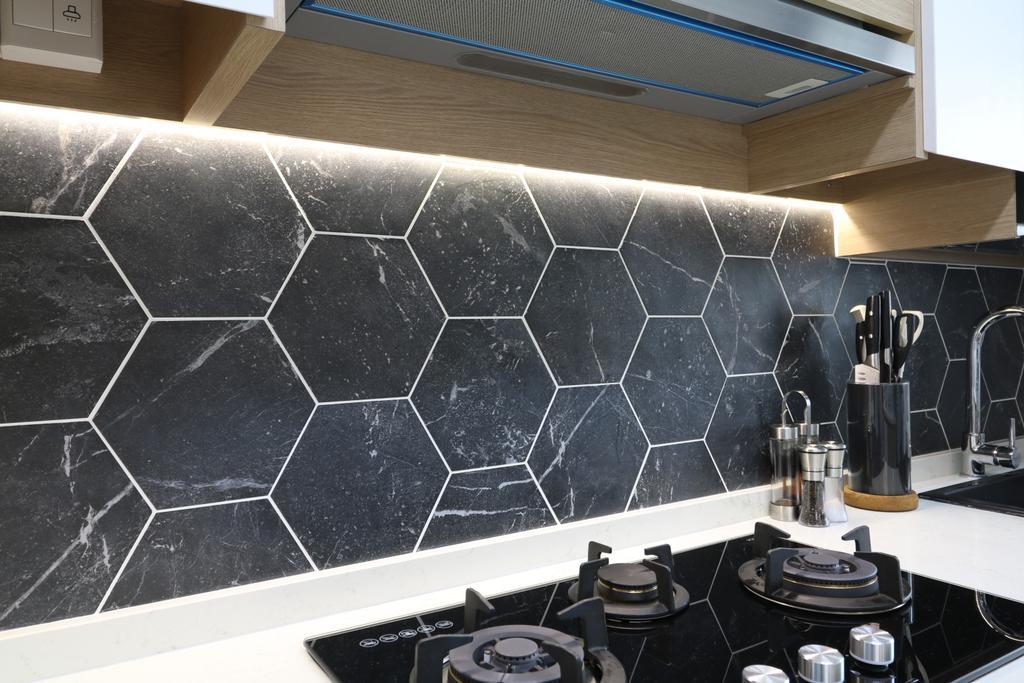 Scandinavian, HDB, Kitchen, Tampines Street 61, Interior Designer, E+e Design & Build, Contemporary