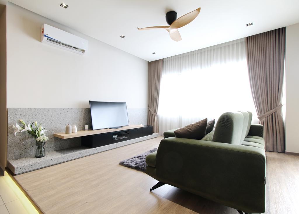 Contemporary, Condo, Living Room, Andes Condo 2, Puchong Kinrara, Interior Designer, Archmosphere-ds