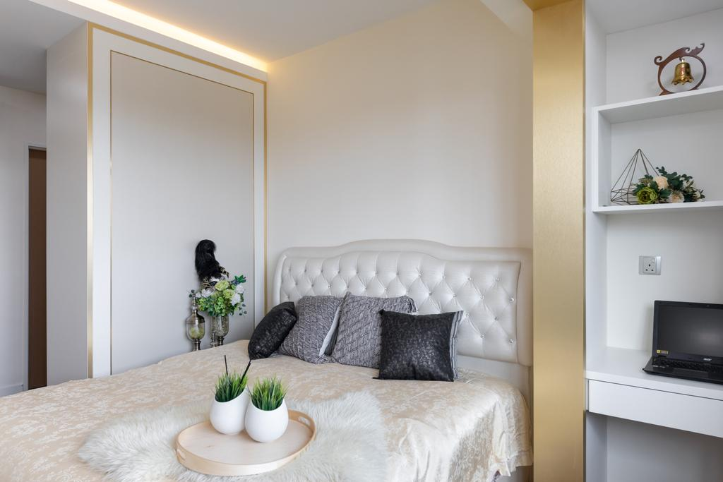 Contemporary, HDB, Bedroom, Punggol Drive, Interior Designer, ING Designers