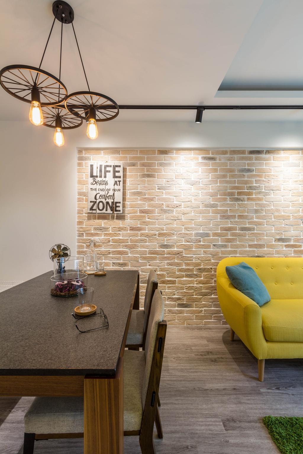 Modern, HDB, Dining Room, Pinnacle @ Duxton, Interior Designer, Fineline Design