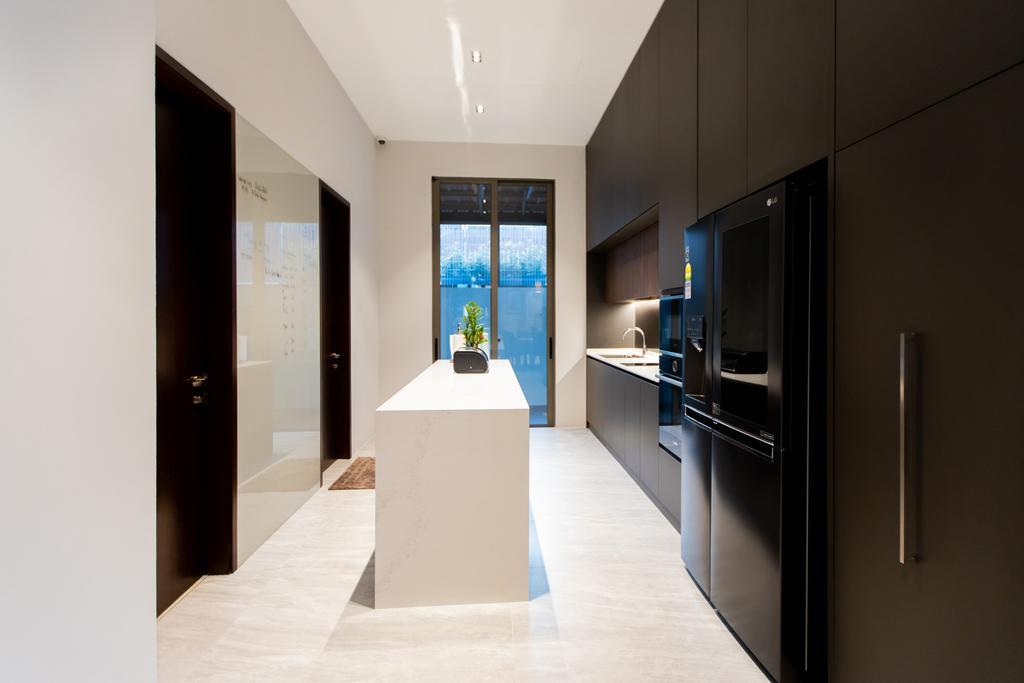 Modern, Landed, Kitchen, Jalan Bangau, Interior Designer, Forefront Interior, Contemporary