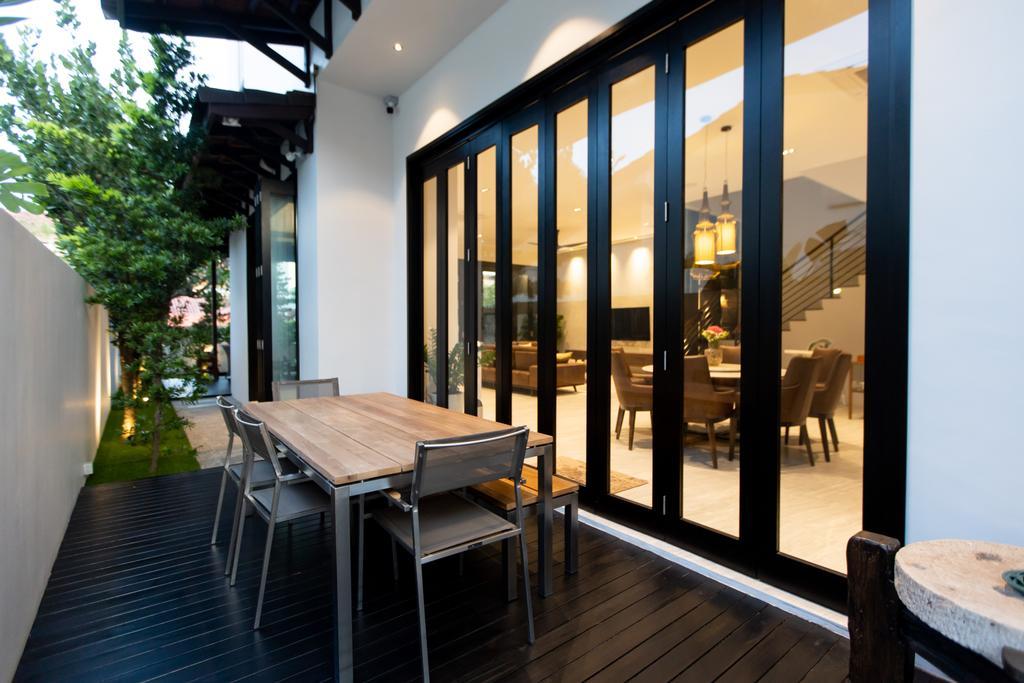 Modern, Landed, Balcony, Jalan Bangau, Interior Designer, Forefront Interior, Contemporary