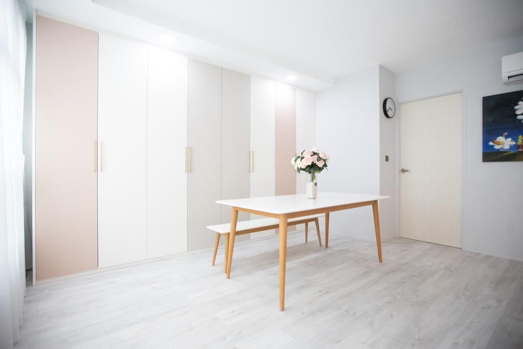 Scandinavian, HDB, Dining Room, Eunos Crescent, Interior Designer, Forefront Interior