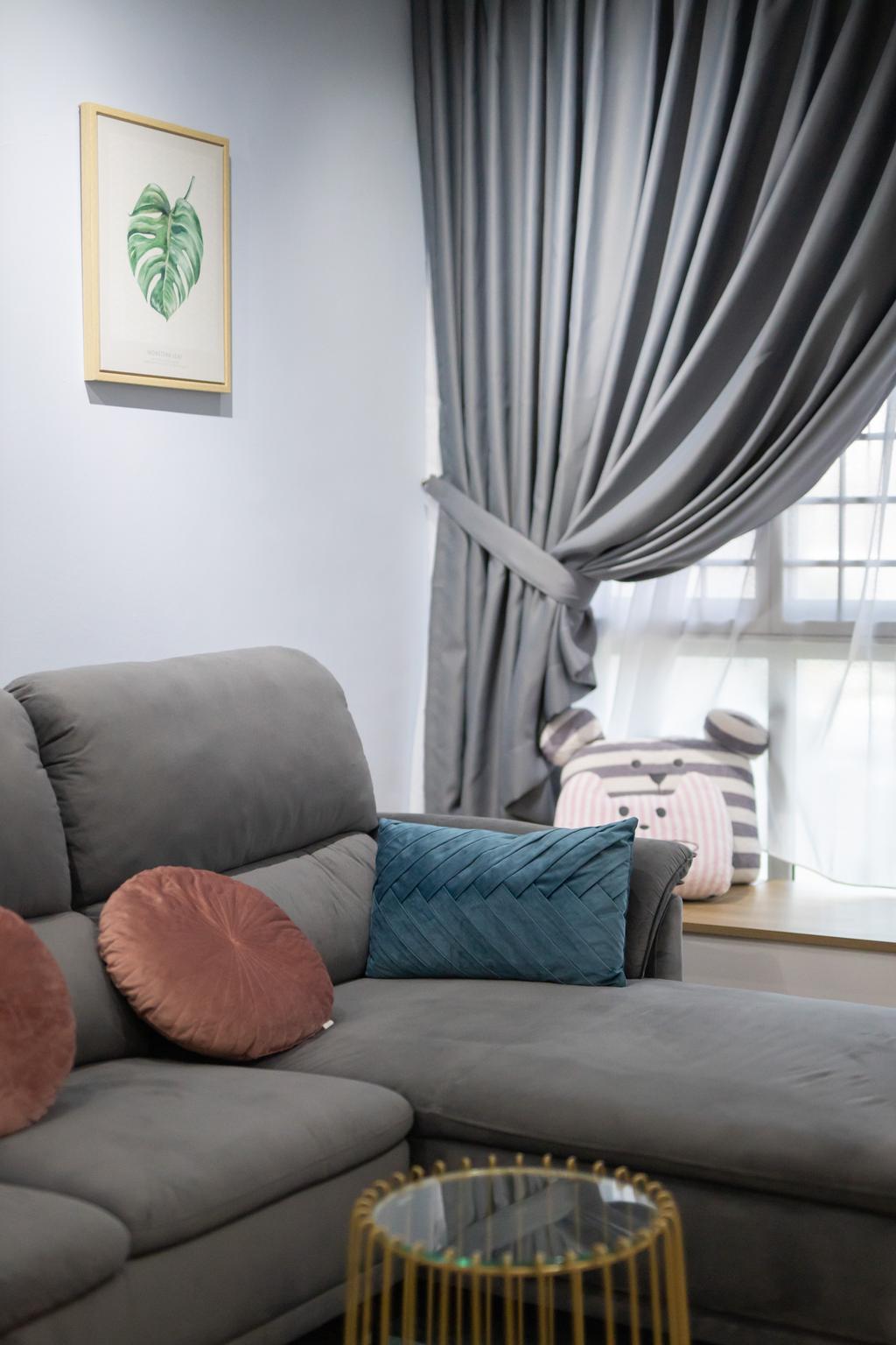 Scandinavian, HDB, Living Room, Strathmore Avenue, Interior Designer, Forefront Interior