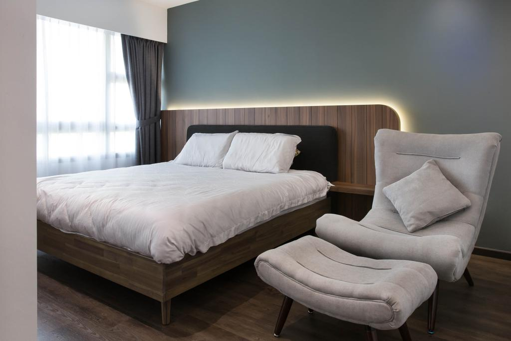 Scandinavian, HDB, Bedroom, Punggol Road, Interior Designer, Inizio Atelier, Industrial