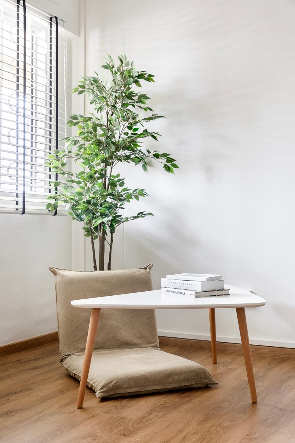 Minimalistic, HDB, Living Room, Ang Mo Kio Avenue 1, Interior Designer, Anhans Interior Design, Scandinavian