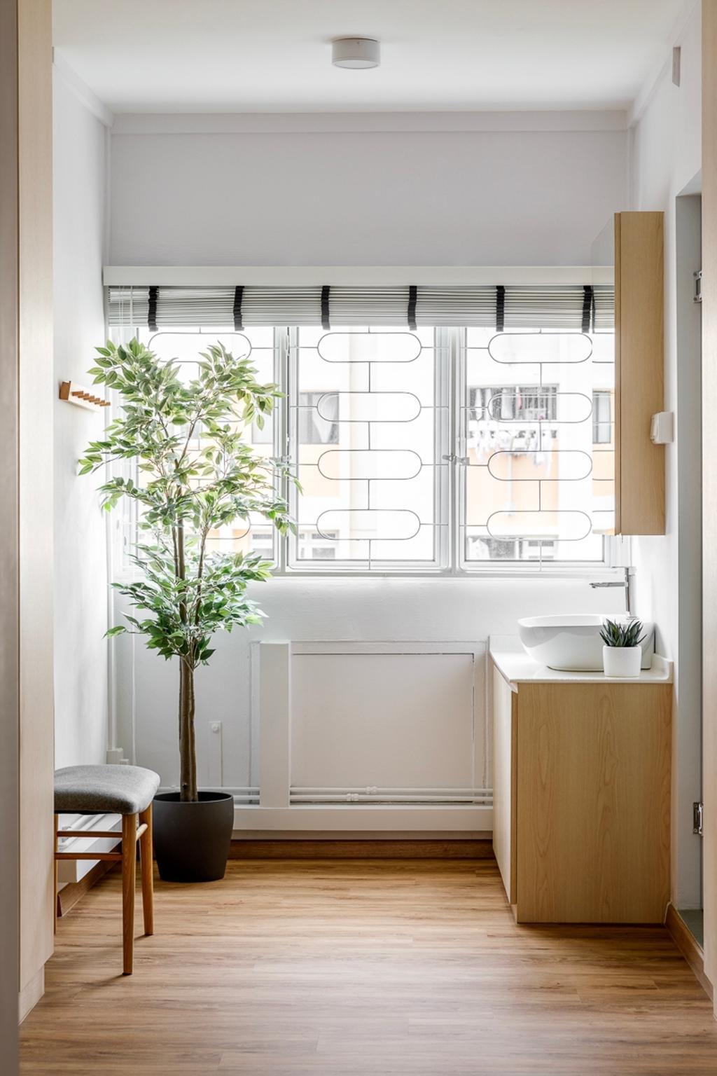 Minimalistic, HDB, Bedroom, Ang Mo Kio Avenue 1, Interior Designer, Anhans Interior Design, Scandinavian