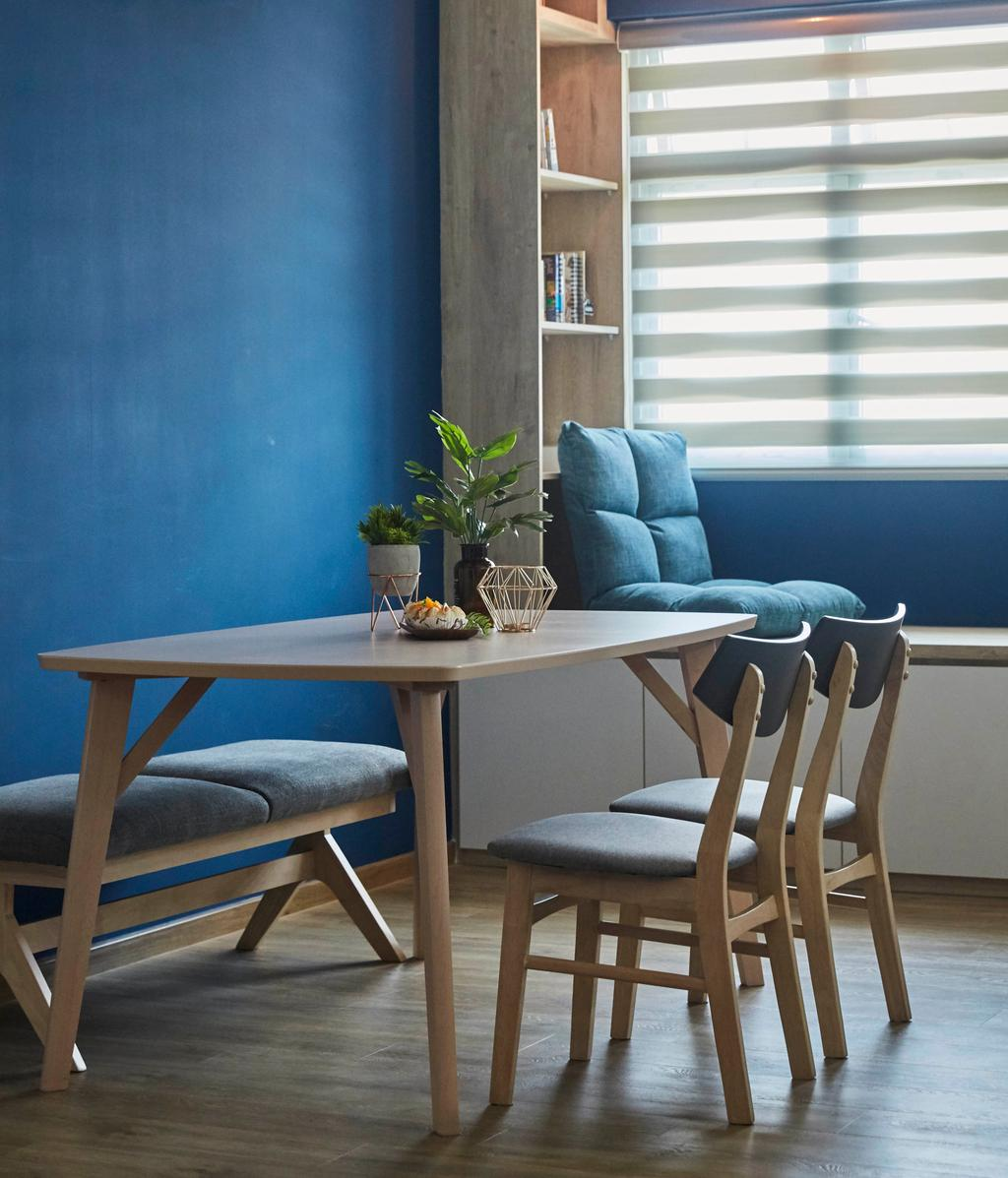 Scandinavian, HDB, Dining Room, Yishun Street 43, Interior Designer, i-Chapter