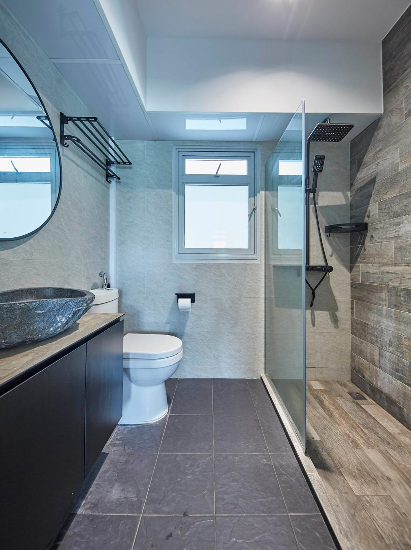 Scandinavian, HDB, Bathroom, Yishun Street 43, Interior Designer, i-Chapter