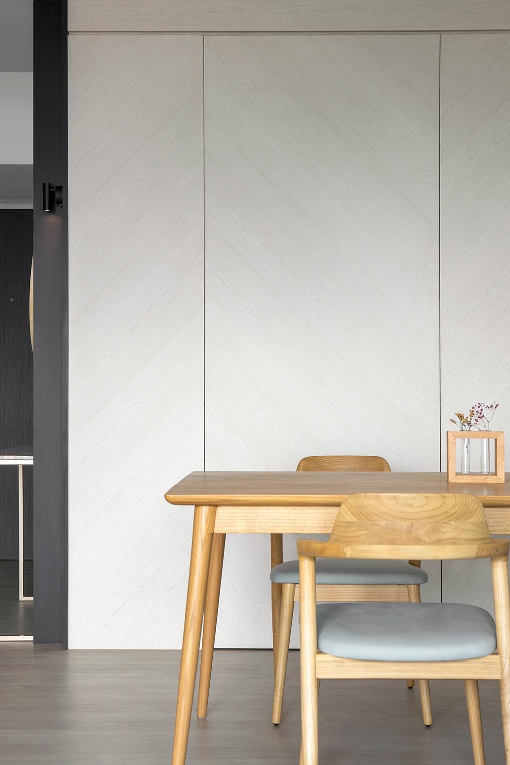 Scandinavian, HDB, Dining Room, Pinnacle @ Duxton, Interior Designer, Van Hus Interior Design