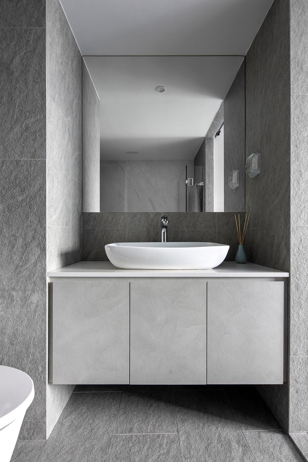 Scandinavian, HDB, Bathroom, Pinnacle @ Duxton, Interior Designer, Van Hus Interior Design