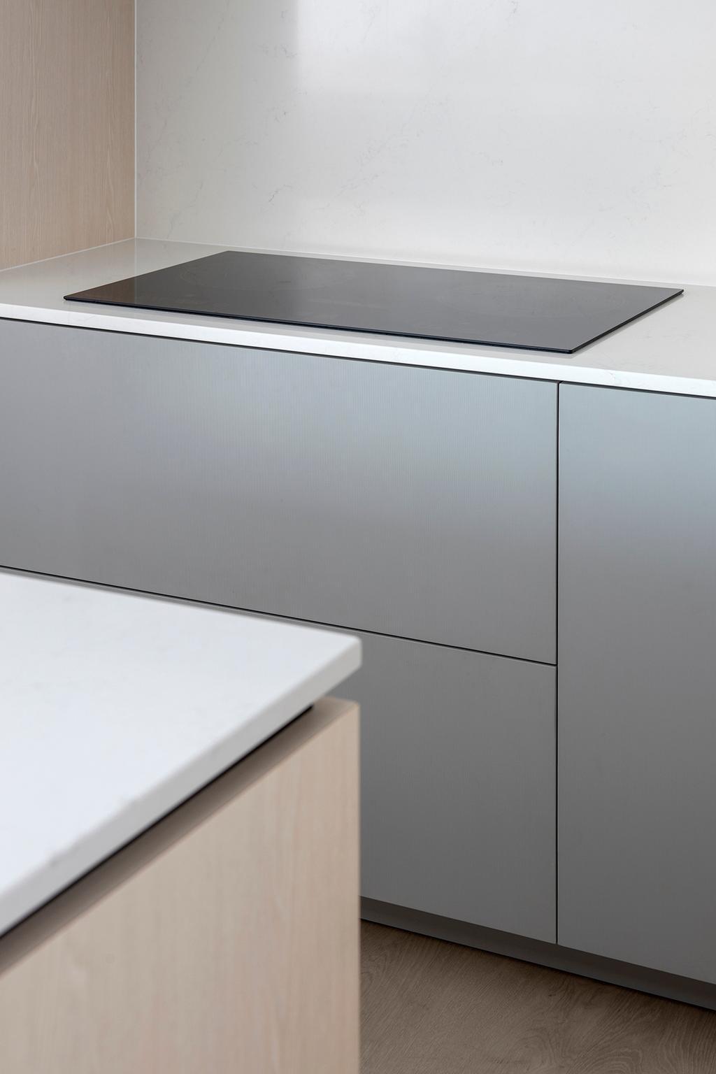 Scandinavian, HDB, Kitchen, Pinnacle @ Duxton, Interior Designer, Van Hus Interior Design