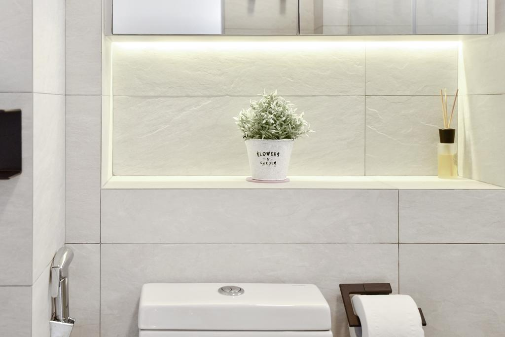 Contemporary, HDB, Bathroom, Choa Chu Kang Street 52, Interior Designer, Van Hus Interior Design, Scandinavian