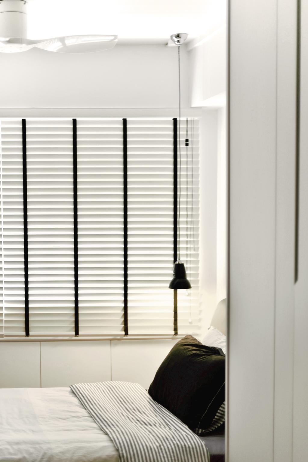 Contemporary, HDB, Bedroom, Choa Chu Kang Street 52, Interior Designer, Van Hus Interior Design, Scandinavian