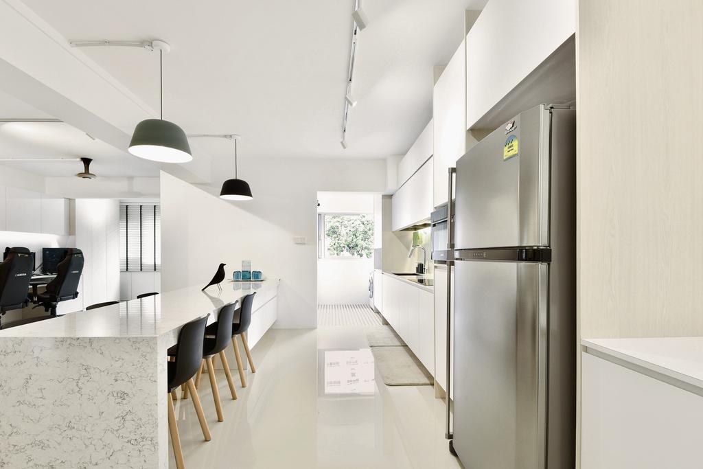 Contemporary, HDB, Dining Room, Choa Chu Kang Street 52, Interior Designer, Van Hus Interior Design, Scandinavian