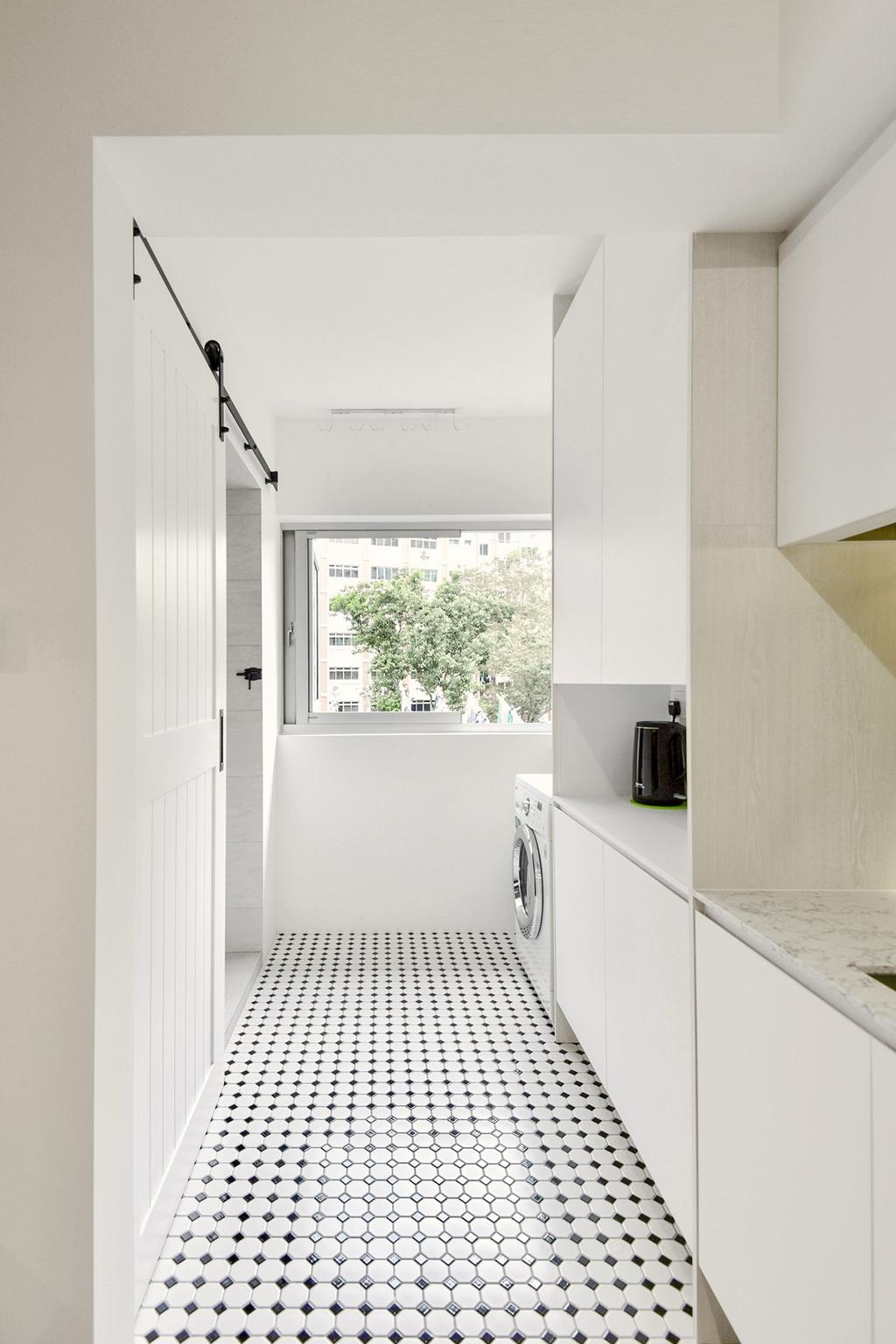 Contemporary, HDB, Kitchen, Choa Chu Kang Street 52, Interior Designer, Van Hus Interior Design, Scandinavian