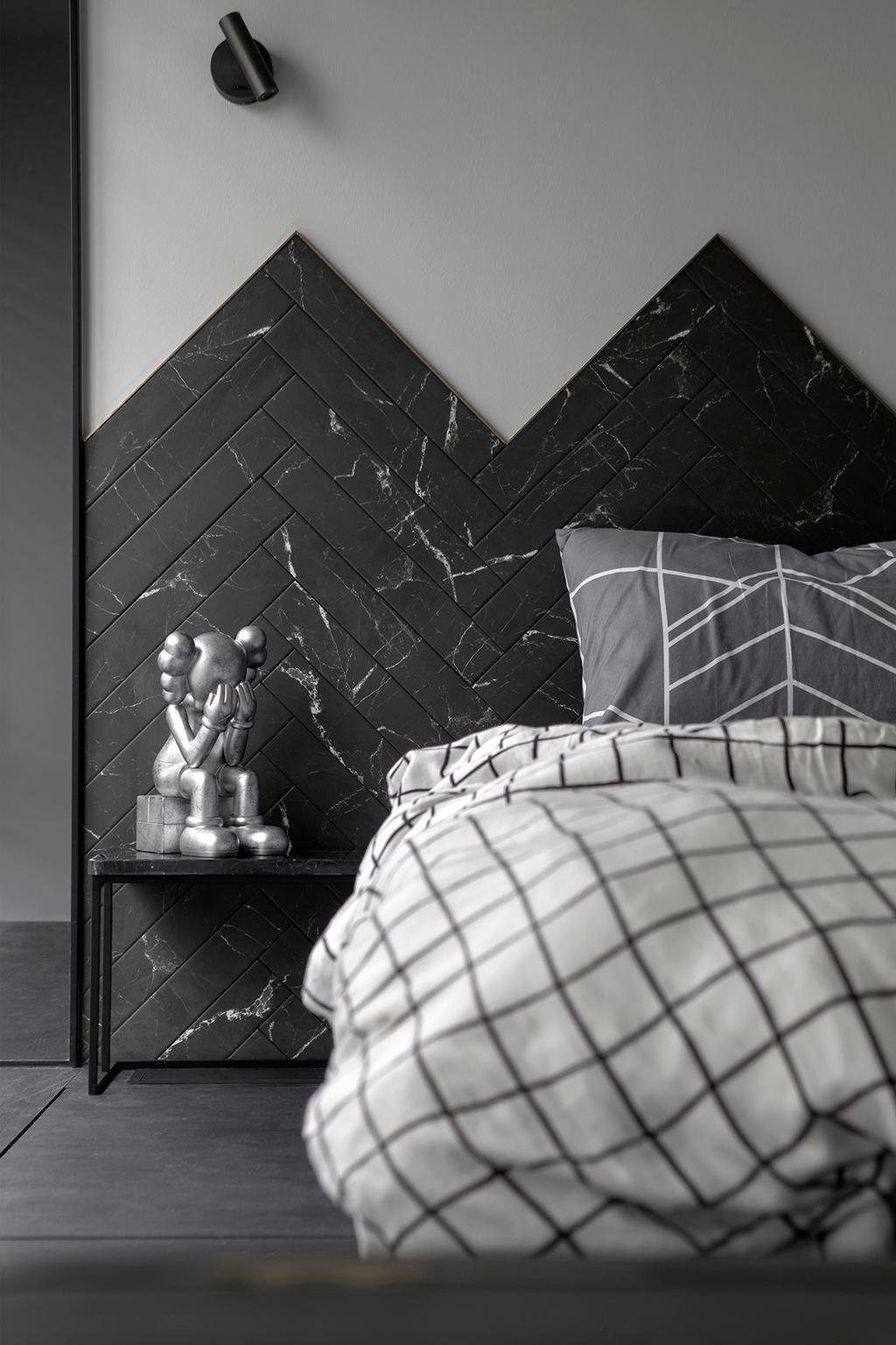 Contemporary, Condo, Bedroom, d'Nest, Interior Designer, Van Hus Interior Design, Industrial