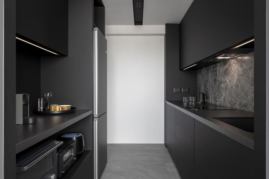 Contemporary, HDB, Kitchen, Henderson Road, Interior Designer, Van Hus Interior Design