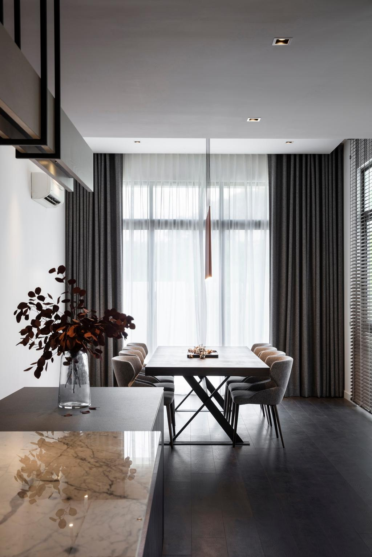 Contemporary, Landed, Taman Melawati, Ampang, Interior Designer, PINS Studio