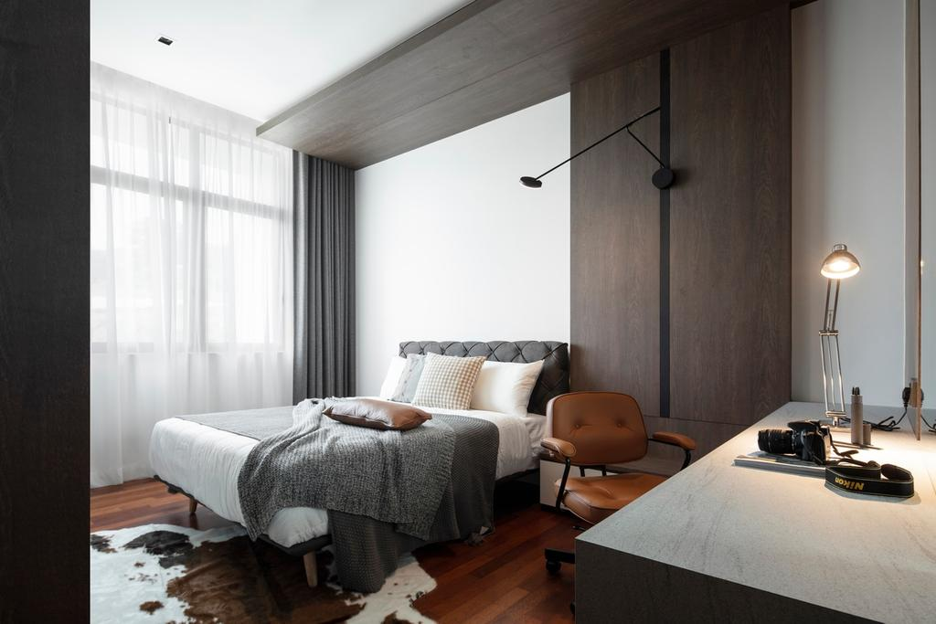 Contemporary, Landed, Bedroom, Taman Melawati, Ampang, Interior Designer, PINS Studio