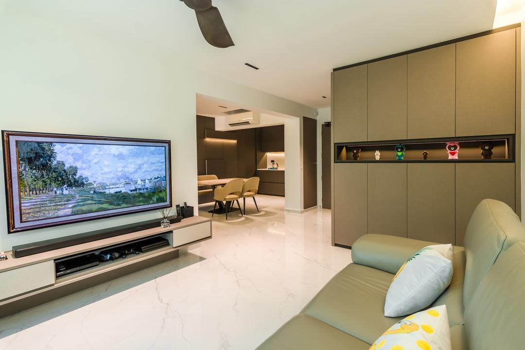 Bukit Batok West Avenue 8 Living Room Interior Design 10