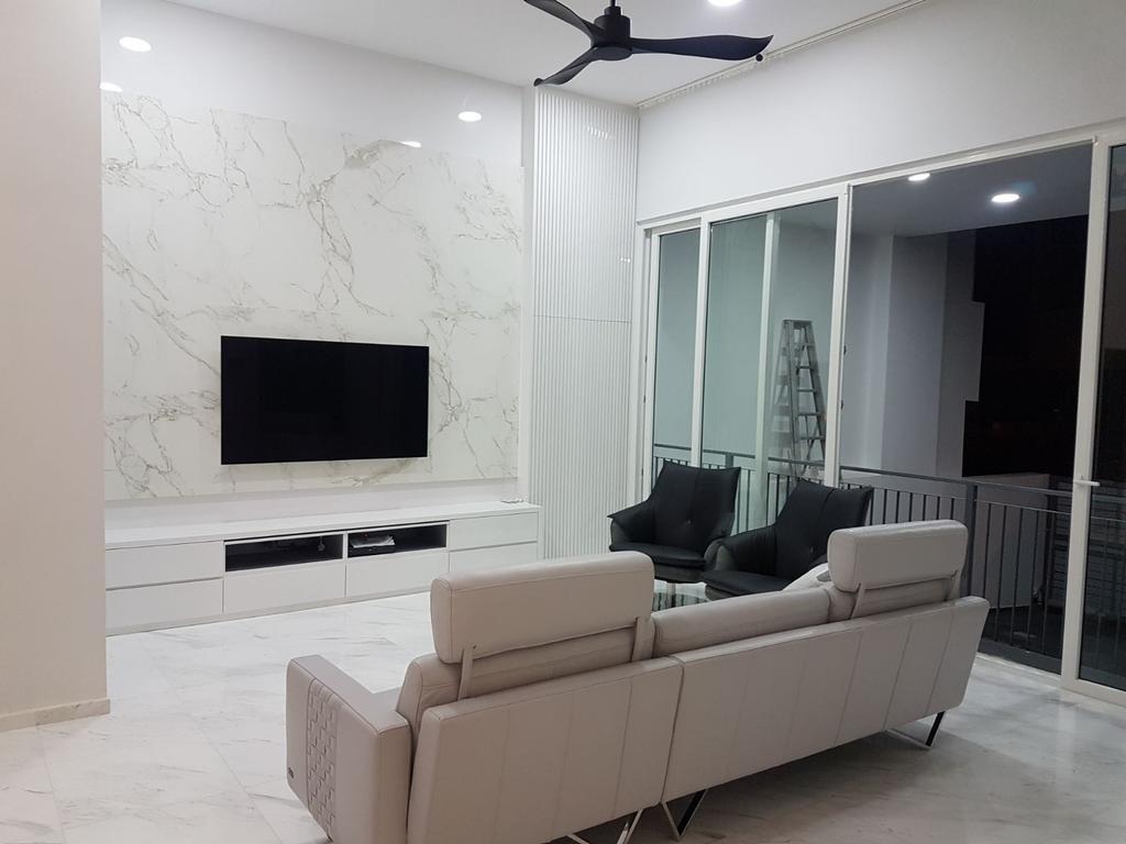 Contemporary, Landed, Living Room, Onan Road, Interior Designer, Studio S Sq
