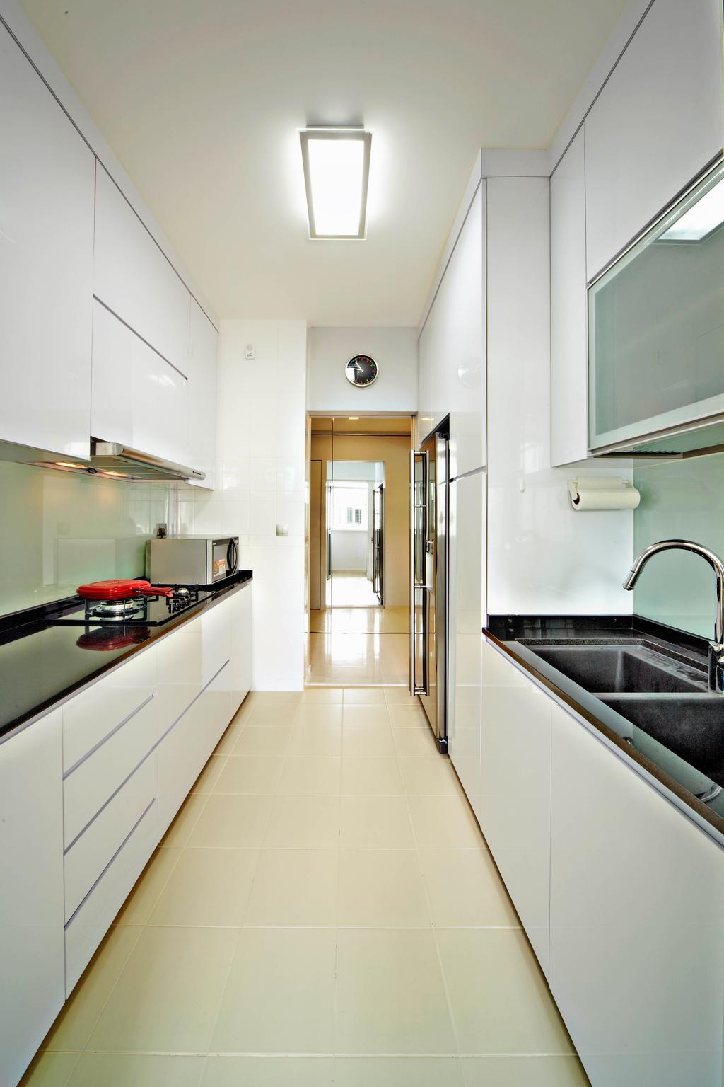 Contemporary, HDB, Kitchen, Yishun Avenue 11, Interior Designer, Studio S Sq
