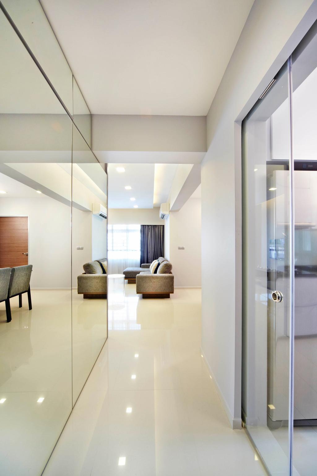 Contemporary, HDB, Living Room, Yishun Avenue 11, Interior Designer, Studio S Sq