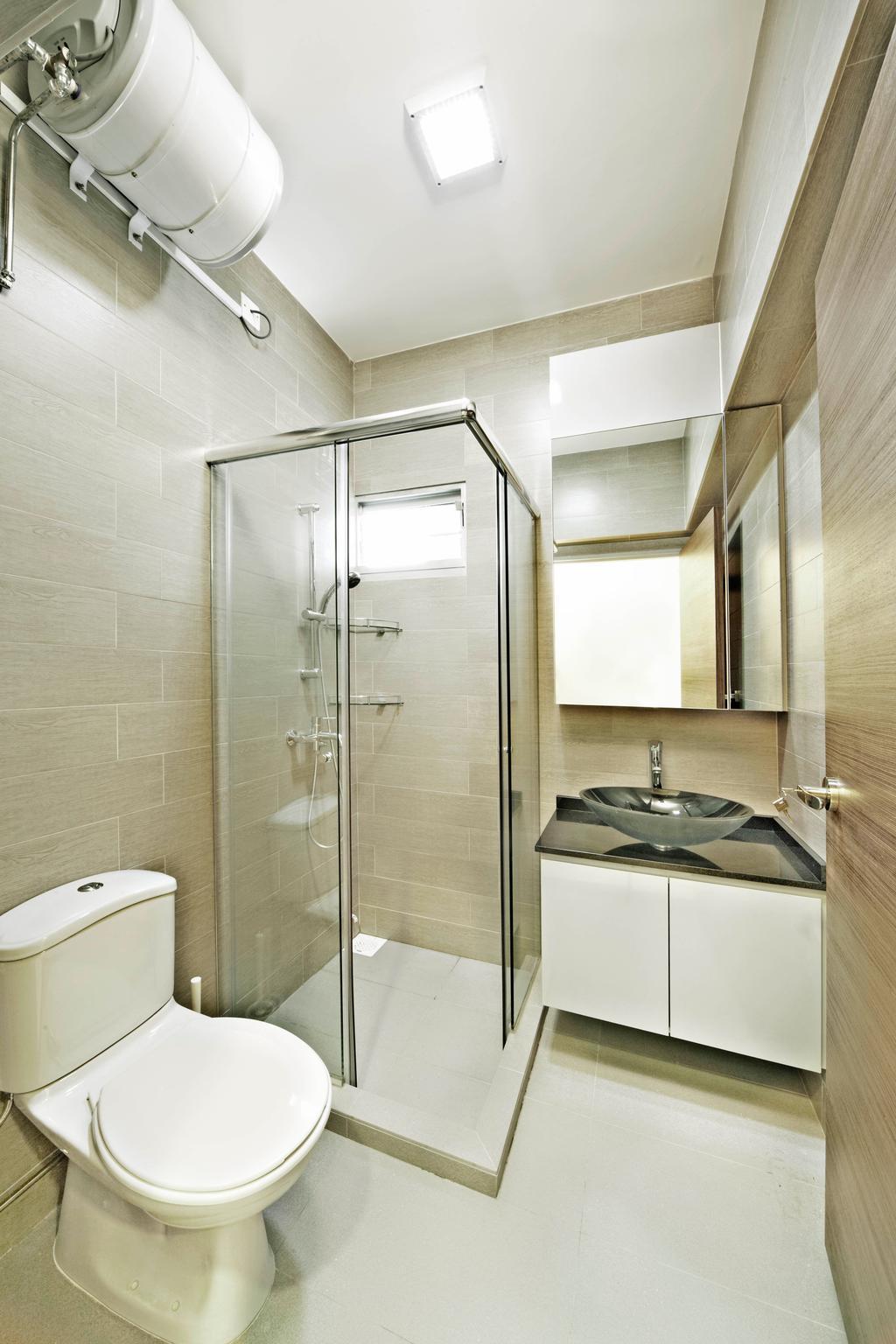 Contemporary, HDB, Bathroom, Yishun Avenue 11, Interior Designer, Studio S Sq