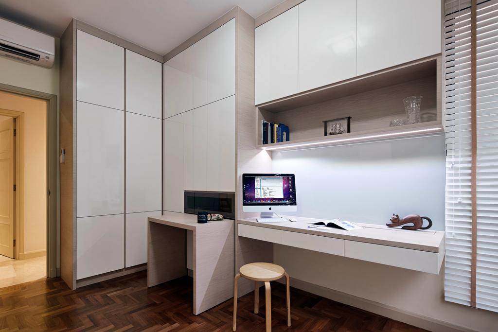 Modern, Condo, Study, Heritage View, Interior Designer, Studio S Sq, Contemporary