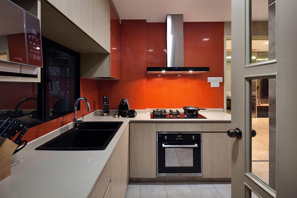 Modern, Condo, Kitchen, Heritage View, Interior Designer, Studio S Sq, Contemporary