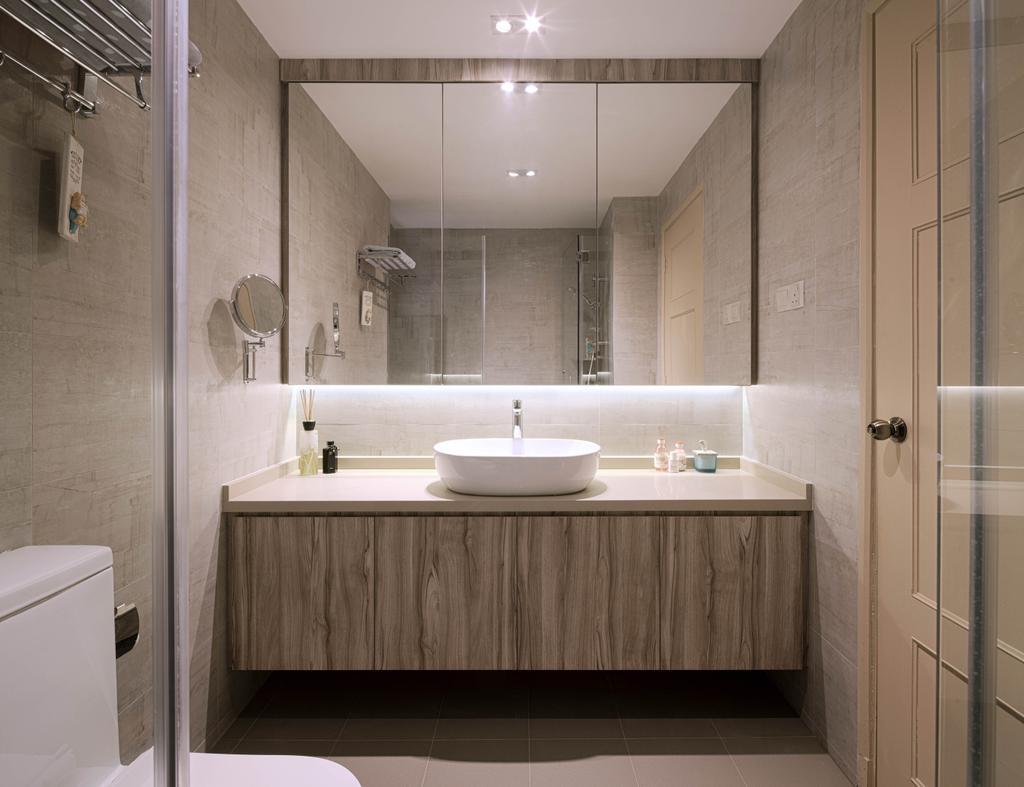 Modern, Condo, Bathroom, Heritage View, Interior Designer, Studio S Sq, Contemporary