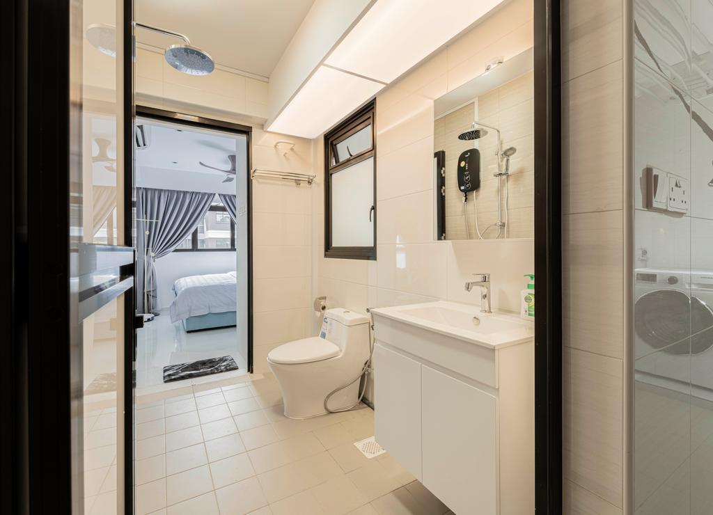 Contemporary, HDB, Bathroom, Canberra Crescent, Interior Designer, Renologist