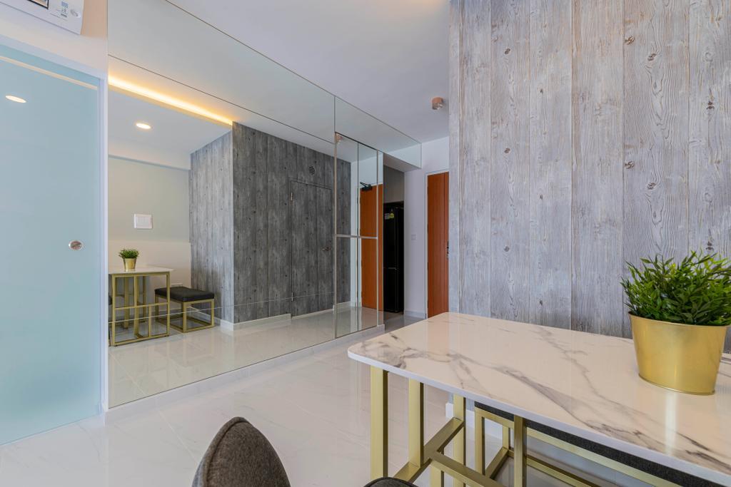 Contemporary, HDB, Dining Room, Canberra Crescent, Interior Designer, Renologist