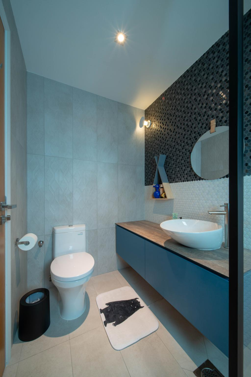 Eclectic, Condo, Bathroom, Avalon, Interior Designer, Forefront Interior