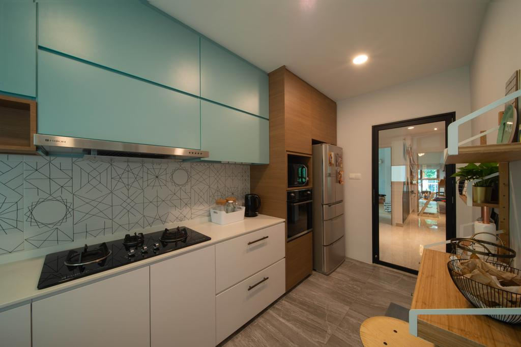 Eclectic, Condo, Kitchen, Avalon, Interior Designer, Forefront Interior