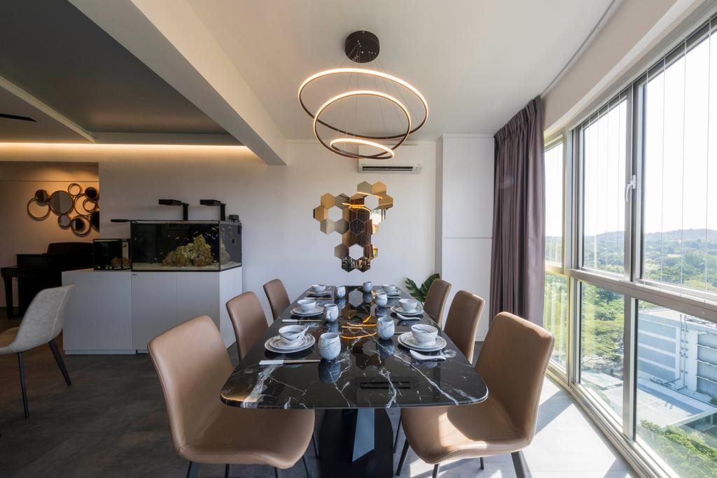 Modern, HDB, Dining Room, Ang Mo Kio Avenue 2, Interior Designer, Starry Homestead