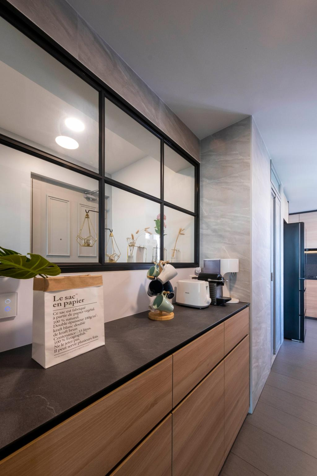 Modern, HDB, Kitchen, Ang Mo Kio Avenue 2, Interior Designer, Starry Homestead