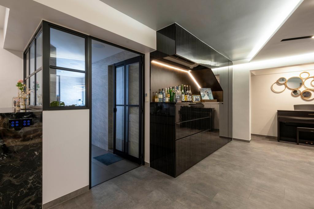 Modern, HDB, Living Room, Ang Mo Kio Avenue 2, Interior Designer, Starry Homestead