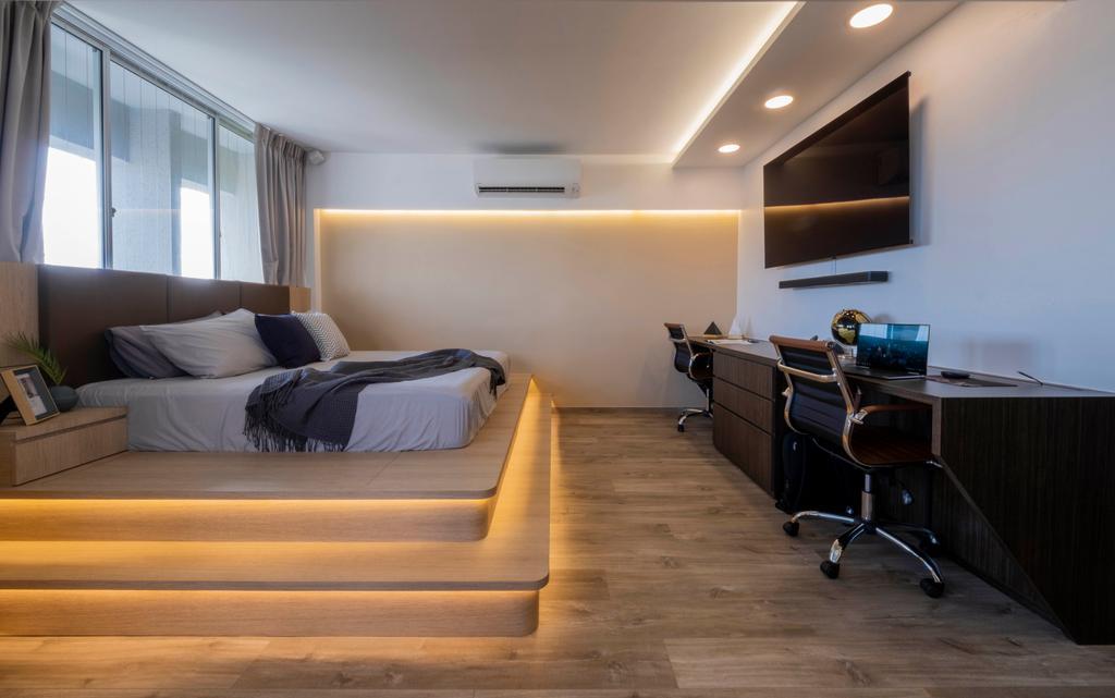 Modern, HDB, Bedroom, Ang Mo Kio Avenue 2, Interior Designer, Starry Homestead