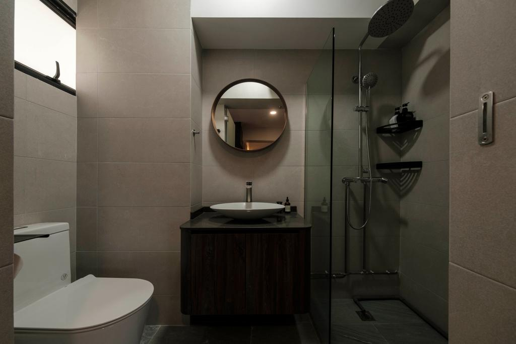 Modern, HDB, Bathroom, Cantonment Close, Interior Designer, Starry Homestead