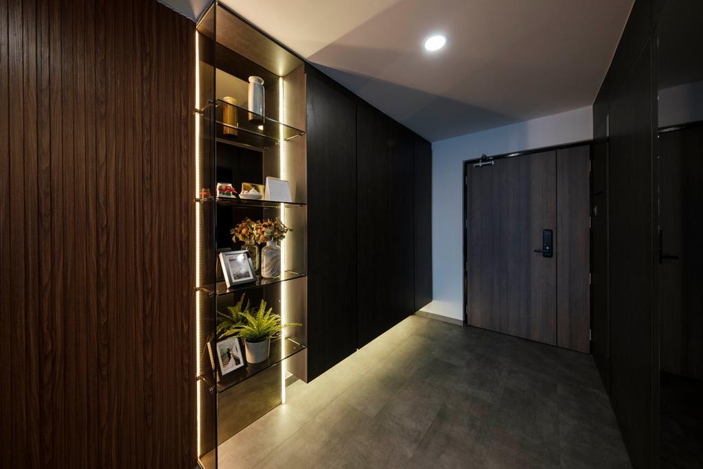 Modern, HDB, Living Room, Cantonment Close, Interior Designer, Starry Homestead, Entrance, Shoe Cabinet