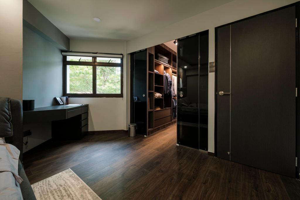 Modern, HDB, Study, Cantonment Close, Interior Designer, Starry Homestead